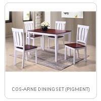 COS-ARNE DINING SET (PIGMENT)